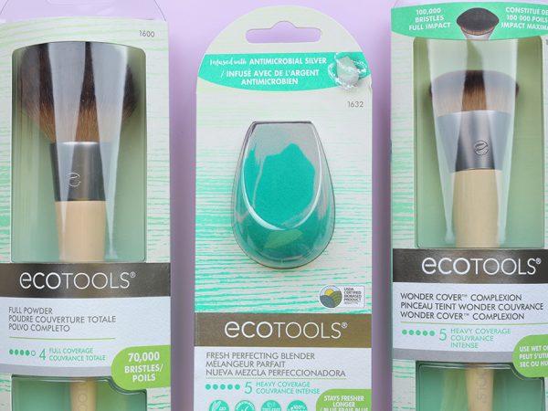 Ecotools: кисть для пудры и тона, спонж – отзывы