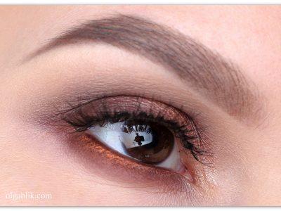 Как сделать макияж глаз коричневым карандашом – поэтапный урок