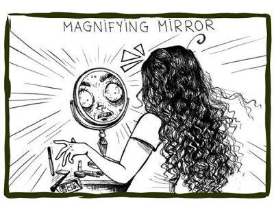 Макияж: реальность и ожидания. Психология поведения.
