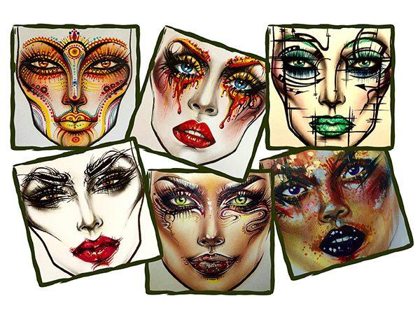 Фейс-чарты, как искусство: Sergey X @milk1422