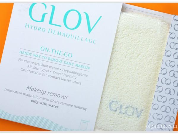 Рукавичка для снятия макияжа Glov– отзыв и фото