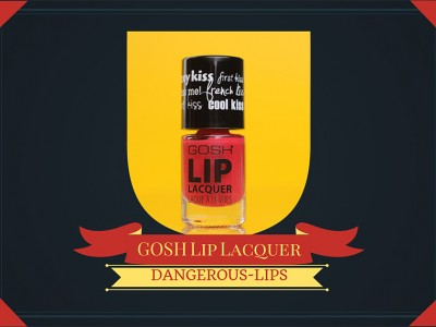 Жидкая губная помада Gosh Lip Lacquer – отзыв