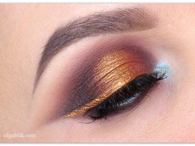 Как сделать цветную подводку для глаз из теней– пошаговый макияж