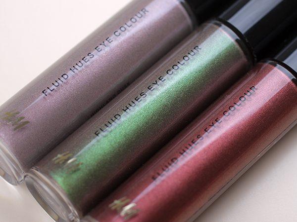 Жидкие тени H&M Beauty Fluid Hues Eye Colour – отзыв