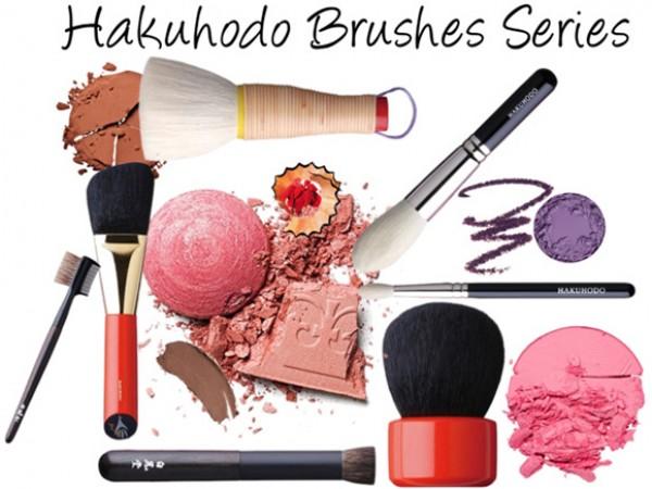 Кисти для макияжа Hakuhodo – описание всех серий