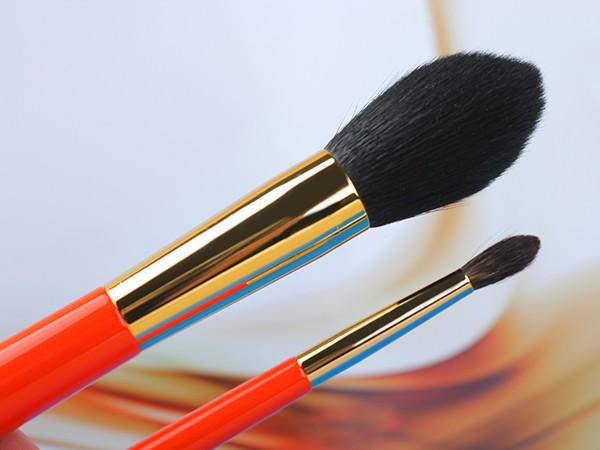 Hakuhodo S103 Pointed Powder Blush Brush & S142 Eye Shadow Brush round