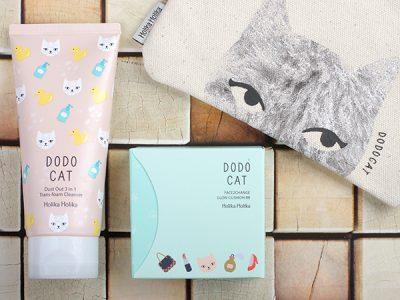 Holika Holika Dodo Cat – очищающая пенка и кушон: отзыв