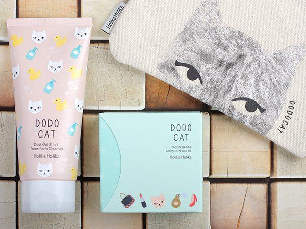Holika Holika Dodo Cat — очищающая пенка и кушон: отзыв