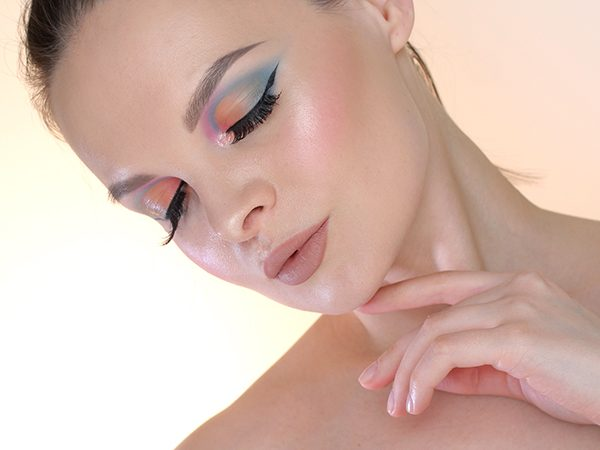Пошаговый макияж с Holika Holika Piece Matching Shadow