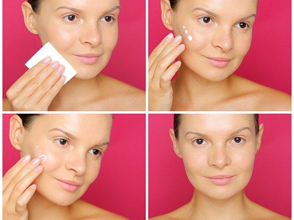 Утренний уход за лицом перед макияжем — поэтапный урок
