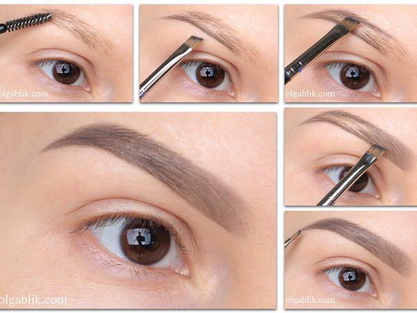Как красить брови тенями для глаз – поэтапный фото-урок