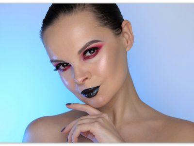 Эффект влажных век пошаговый макияж