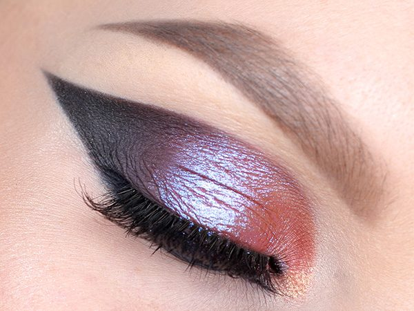 Inglot AMC Pure Pigment Eye Shadow 120: Макияж