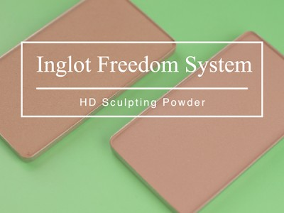 Пудра Inglot HD Sculpting Powder 504 – отзыв визажиста
