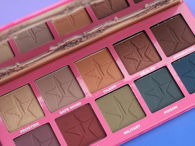 Jeffree Star Cosmetics Androgyny Eyeshadow Palette: отзывы, свотчи, макияж