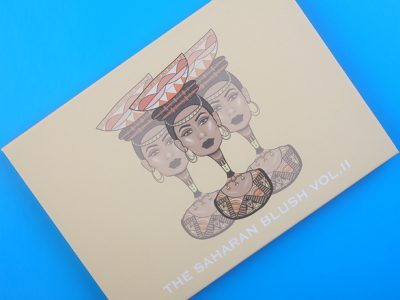 Некоммерческая палетка Juvia's Place The Saharan Blush Palette Volume II