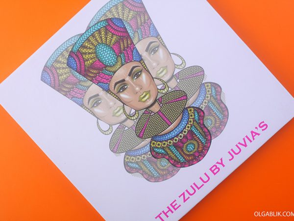 Слишком цветная Juvia's Place The Zulu Palette