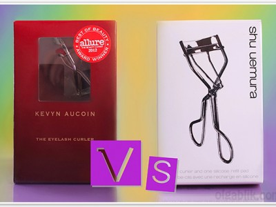 Kevyn Aucoin The Eyelash Curler против Shu Uemura Eyelash Curler