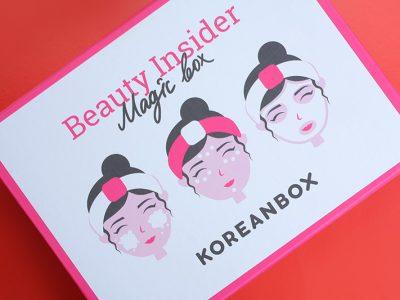 Забота по-корейски: коробочка с корейской косметикой KoreanBox