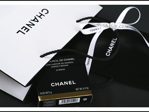 Макияж бровей с Chanel Perfect Brows: первое впечатление