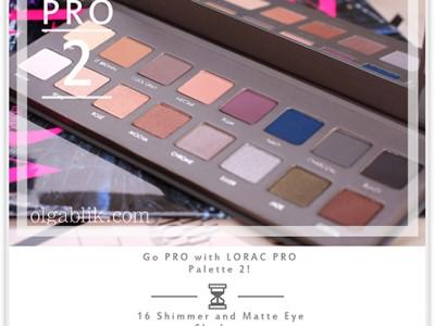 LORAC Pro Palette 2 Eyeshadow: Фото, Отзывы, Свотчи.