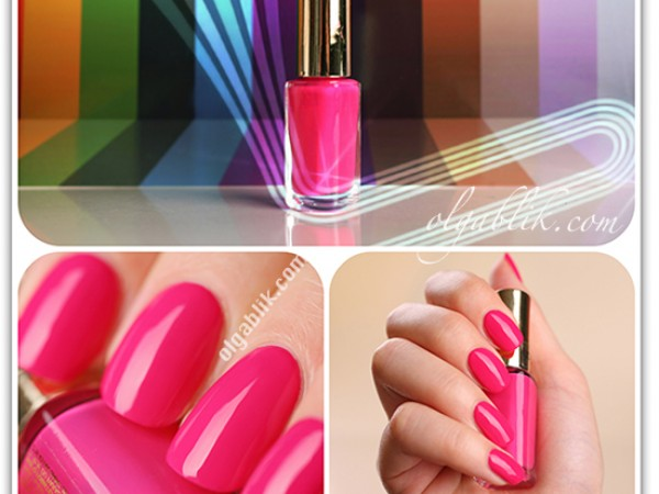 Лак L'Oreal Color Riche 210 Shocking Pink: отзывы