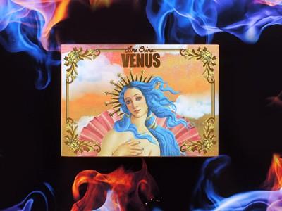 Lime Crime Venus The Grunge Palette – отзыв, фото, макияж, свотчи