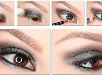 Как сделать макияж одним цветом теней – пошаговый фото-урок