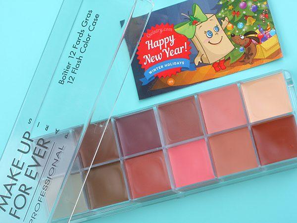 Палетка Make Up For Ever 12 Flash Color Case – отзыв