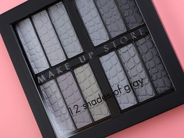 Make Up Store Palette — 12 Shades Of Gray: простая и сложная палетка