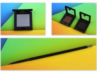 Косметика Make Up Store: кисть для подводки, тени, сухая подводка