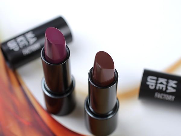 Губная помада Make up Factory – отзыв, фото, свотчи