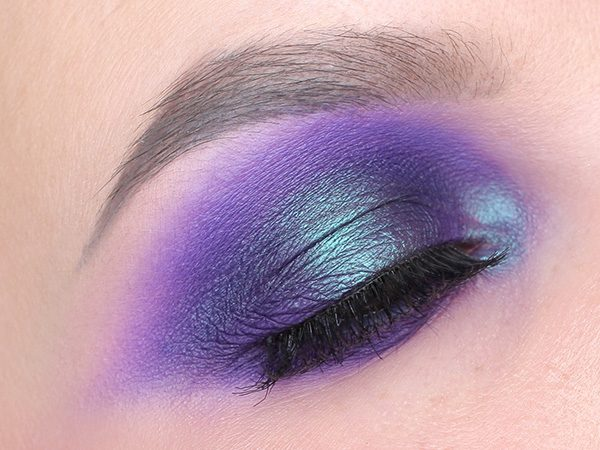 Makeup Geek Duochrome и Макияж Smoky eyes