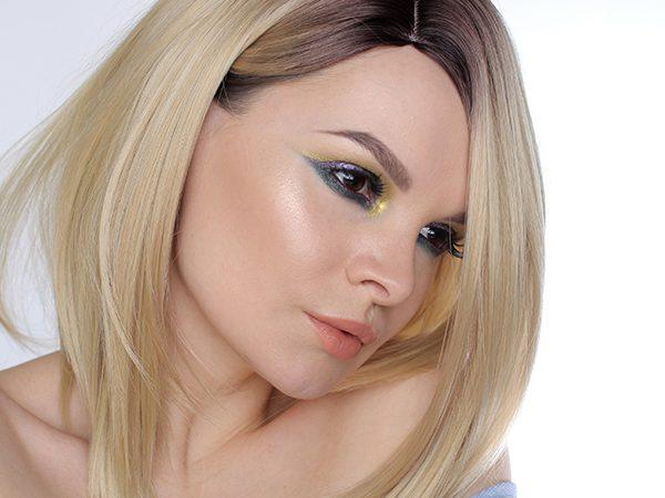 Makeup Look  – only ColourPop Eyeshadow