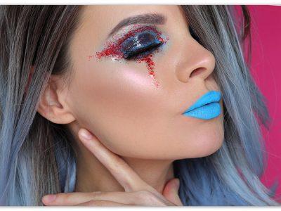 Эффект влажных глаз: креативный макияж для фотосессии