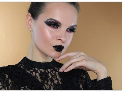 """Макияж на Хэллоуин 2019 """"Темные силы"""""""