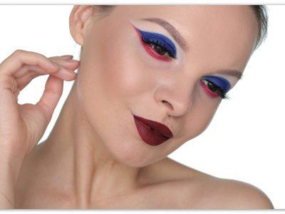 Как нарисовать флаг России на глазах: пошаговый макияж