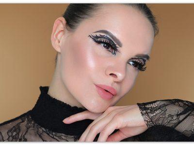 Гелевые подводки Shiseido Inkstroke Eyeliner: креативный макияж