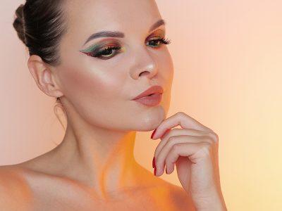 Осенний макияж 2018: креативное решение