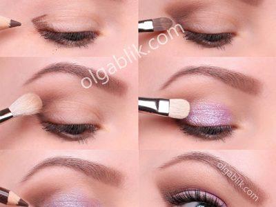 Какие выбрать тени для голубых глаз – пошаговый макияж