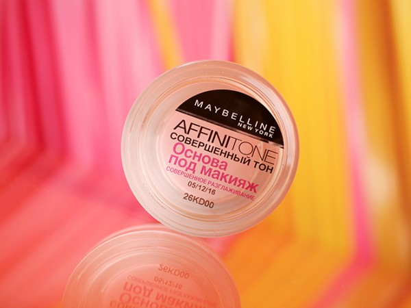Основа под макияж Maybelline Affinitone Primer – отзыв