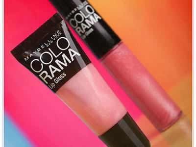 Блески для губ Maybelline Colorama Lip Gloss – отзыв