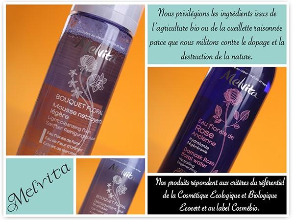 Melvita: цветочные воды, очищающая пенка и эмульсия для снятия макияжа.