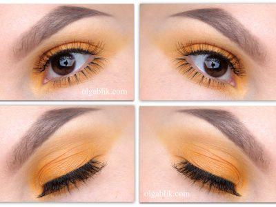 Как сделать монохромный макияж глаз – пошаговый фото-урок