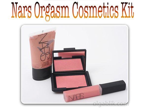 Блеск для губ NARS Lip Gloss Orgazm и румяна NARS Blush Orgazm