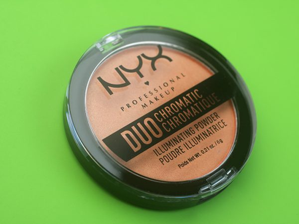 Хайлайтер NYX Duo Chromatic Illuminating Powder: отзывы