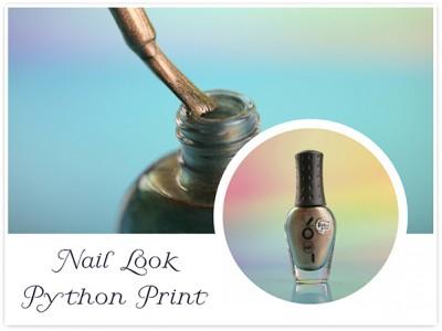 Магнитный лак для ногтей NailLOOK Python Print – отзывы