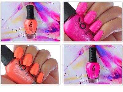 Неоновый песочный лак NailLOOK Hot Neons – отзыв