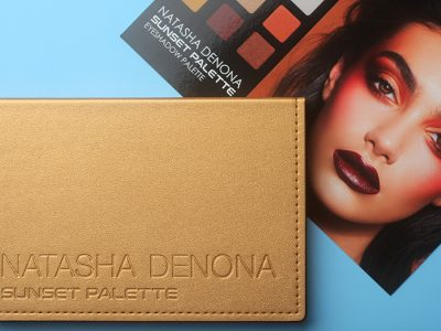 Natasha Denona Sunset Palette: 15 оттенков осени