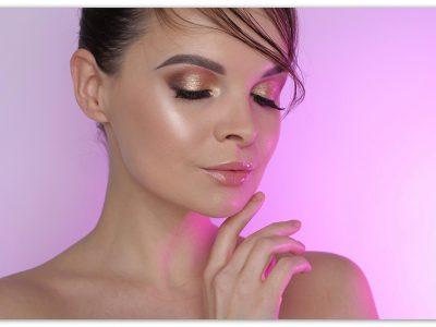 Дневной макияж с тенями Natasha Denona Sunset Palette
